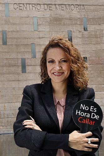 Jineth Bedoya de Colombia.