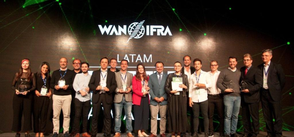 Winners of the 2019 Digital Media LATAM Awards (Photo: Courtesy WAN-IFRA)