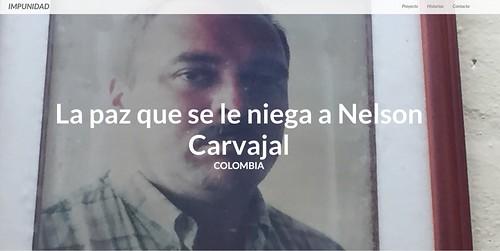 Nelson Carvajal Carvajal's case at the project Impunidad