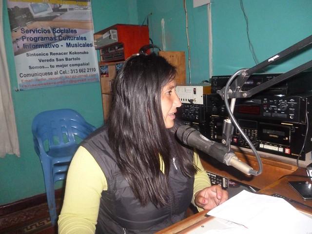 Periodista Efigenia Vásquez Astudillo de Colombia.