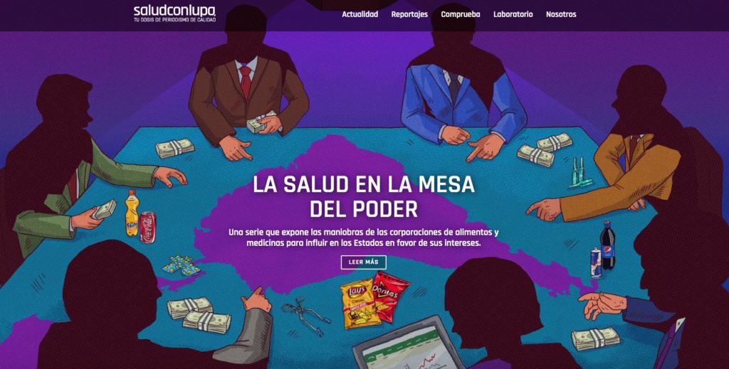 Salud con Lupa (Screenshot)